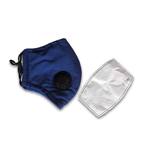 Reusable Face Mask with Breathing Valve (PM2.5)